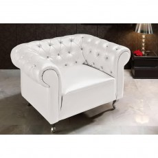 Кресло Dupen B-7 white С